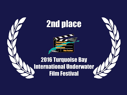 <em>Tales of the Sand</em> remporte le 2eme Prix au Turquoise Bay International Underwater Film Festival
