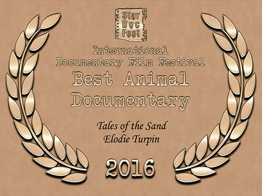<em>Tales of the Sand</em>, Meilleur Documentaire Animalier au Star Doc International Documentary Film Festival