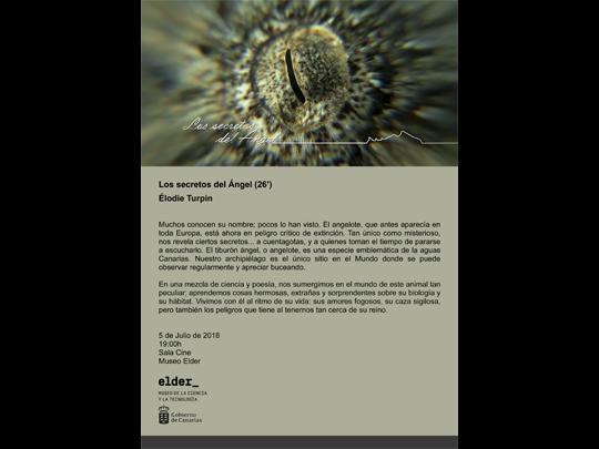 <em>Los secretos del ángel</em> se estrena oficialmente en España en el Museo Elder de la Ciencia y la Tecnología