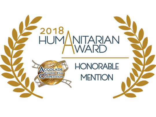 "A wonderful ""Humanitarian Award"" for <em>The Angel's Secrets</em>!"